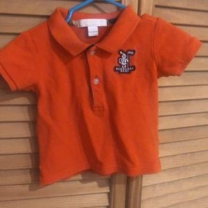 Baby Burberry shirt  size 6m